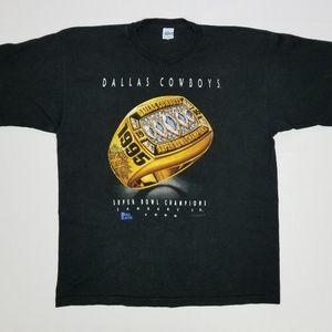 Vintage Dallas Cowboys Championship tee.